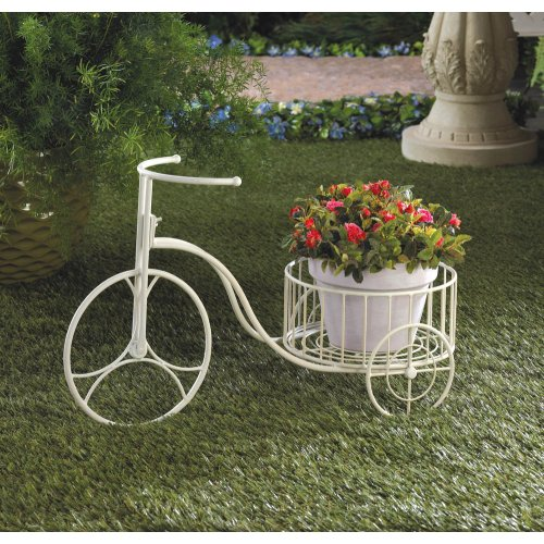 Tricycle Planter Lifestyle