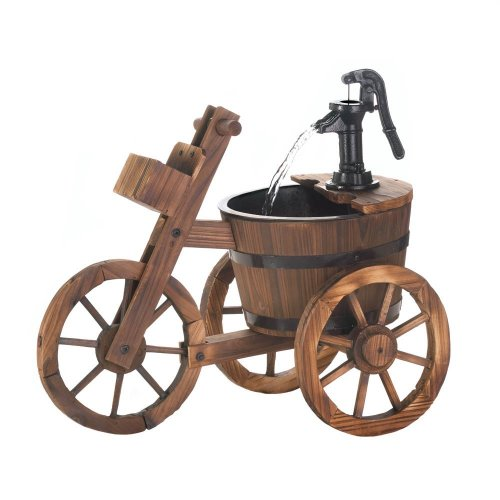 Tricycle Water Fountain