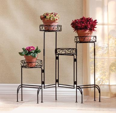 4 Tier Folding Plant Stand Screen