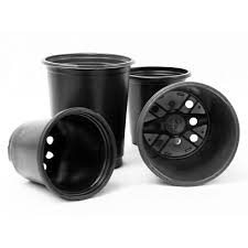 4 in. Round Planting Pot