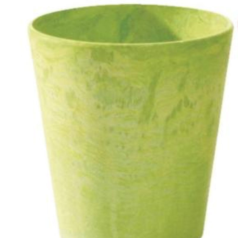 5-inch Cache Pot - Lime